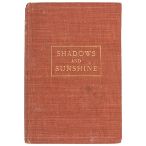 Temperance Lecturer Eliza Suggs Autobiography Shadows and Sunshine, 1906 First Edition