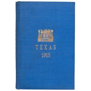 Texas African American Masonic Lodge Report, 1918