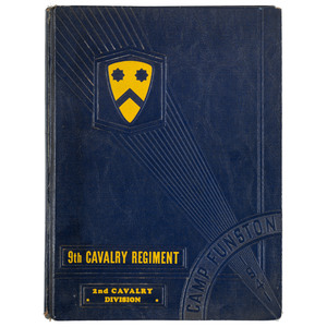 Buffalo Soldiers 9th Cavalry, Historical and Pictorial Review, 1941
