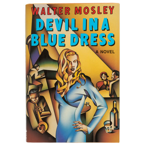 First Signed and Inscribed Devil in a Blue Dress with Related TLS by Walter Mosley