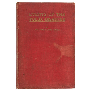 Scarce Events of the Tulsa Disaster, First Edition, 1922