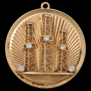 Dankner 14k Gold Diamond Charm
