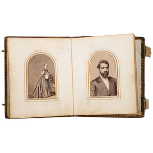 CDV Album of African Americans, Incl. Portraits by J.P. Ball, ca 1870
