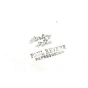 Paul Revere Sterling Bowl