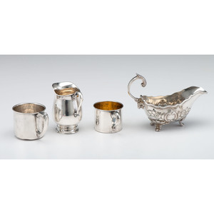 Sterling Silver Tablewares and Accessories, Plus