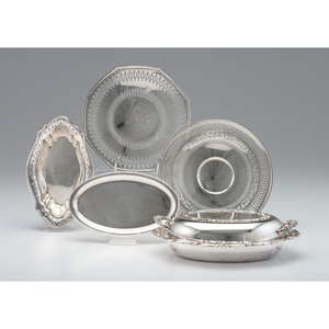Sterling Trays and Bowls, Including Gorham, Plus