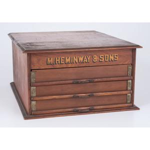 M. Heminway & Sons Spool Cabinet