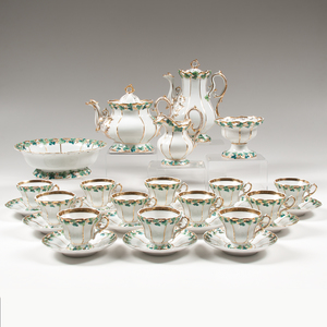 Carl Tielsch Porcelain Coffee and Tea Service