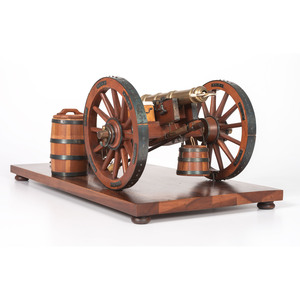 Revolutionary War Cannon Model