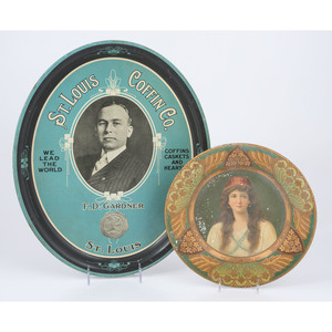 St. Louis Coffin Co. Advertising Tins
