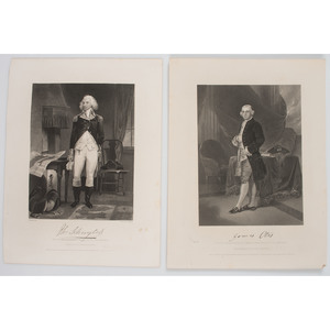 Large Collection of Lithographs and Engravings, Incl. Portraits of Revolutionary War Military and Political Figures