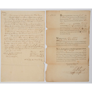 Revolutionary War Veteran Richard Varick, 1792 Tavern Permit Signed as Mayor of New York City, Plus