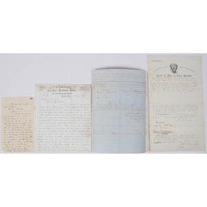 War-date DS by CSA Gen. Samuel G. French, War-date DS by CSA Capt. Isaac Shelby Jr., Plus