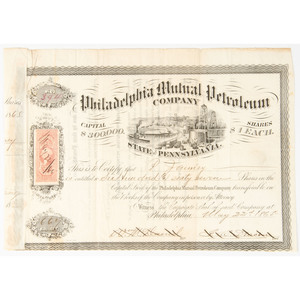 Collection of Eighteenth- and Nineteenth-Century Partially Printed Notes and Certificates