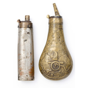 Lot of Four Powder Flasks