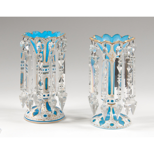Trumpet-Form Glass Lusters