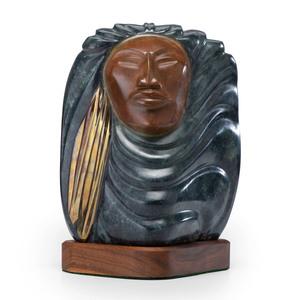 Bruce LaFountain (Chippewa / French / Cree, b. 1961) Bronze Sculpture