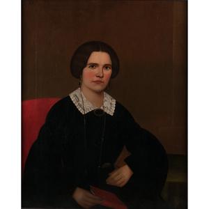 American School, Portrait of a Woman