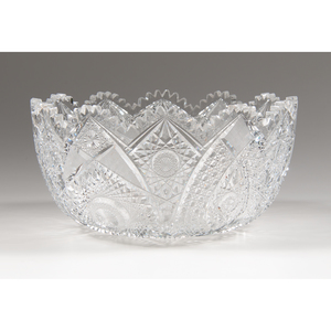 Brilliant Cut Glass Bowl