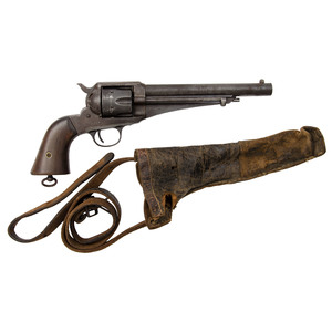 Remington Model 1875 Revolver with Holster