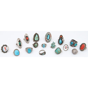 Navajo, Zuni, and Southwestern Rings