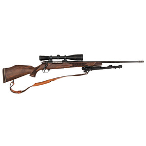**Weatherby Mark V Rifle with Scope