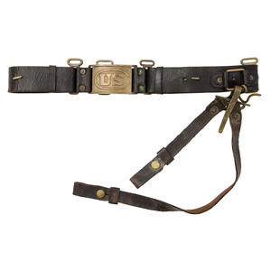 Model 1872 Cavalry Belt For The Use Of  The Bracing System