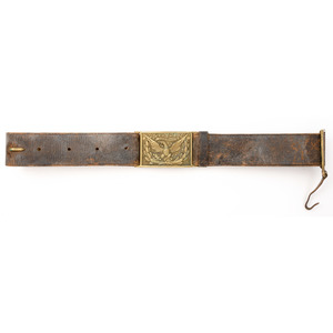 Model 1874 Belt With Officers Buckle