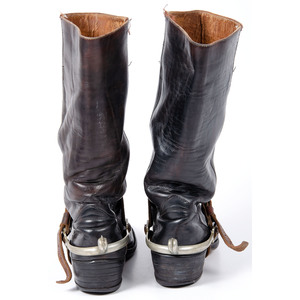 Riding Boots with Spurs