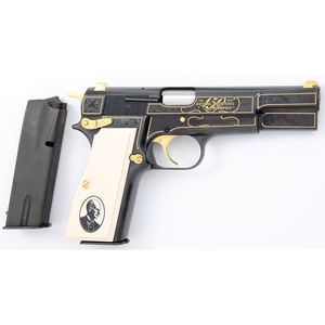 * John Browning Anniversary Hi Power Pistol
