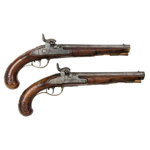 Pair of German Pistols by Michael Korb