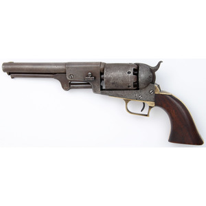 A Composite Martially Marked Colt First Model Dragoon Revolver