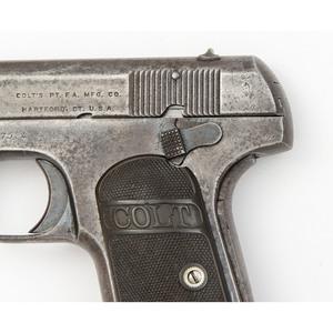 **British Marked Colt 1903 .380 Hammerless Pistol