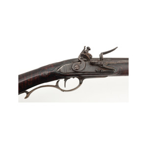Early Raised Carved Kentucky Rifle