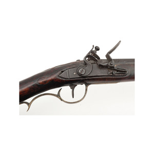 Raised Carved Kentucky Rifle