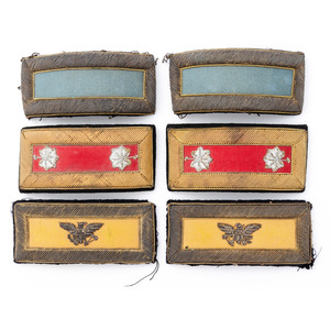 Lot of Three Pairs of U.S. Officer's Shoulder Straps