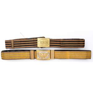 Lot of Two American Military Belts