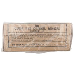 Pack of 20 .45 Caliber Carbine Cartridges