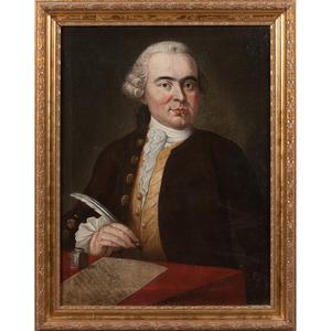 Late-18th-Century Portrait of a Gentleman
