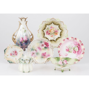 R.S. Prussia Hand-Painted Porcelain Wares