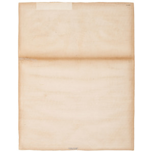 California Imprint of President Lincoln's Emancipation Proclamation Broadside, 1864