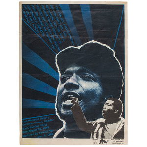You Can Jail a Revolutionary, but You Can't Jail the Revolution Fred Hampton Poster by Emory Douglas, ca 1969