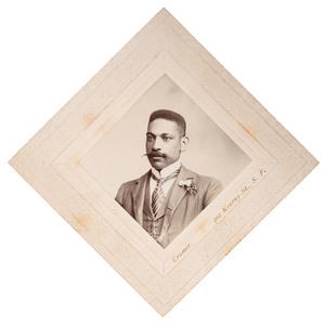 J. Lincoln Derrick, San Francisco Newspaper Publisher, Diamond CDV