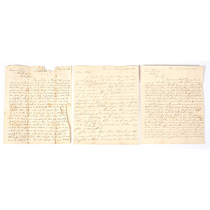 Haitian Mercantile Correspondence, Incl. Content Related to Unification of Hispaniola, 1819-1844