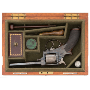 Cased Tranter House Defence Revolver by Conway