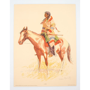 American Indian Books, Prints and Reproductions, Incl. Quanah Parker