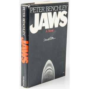 Jaws, 1974 Peter Benchley Inscribed Copy