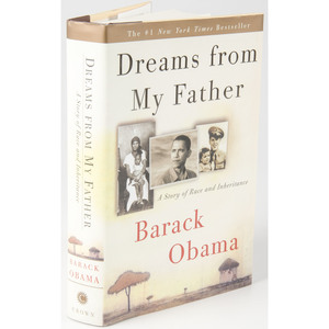 President Barack Obama, Signed Copy of Dreams From My Father
