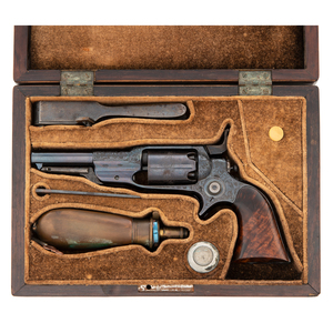 Rare and Desireable Factory Engraved Colt Model 7A Root Revolver