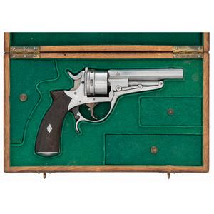 Good Cased Galand Revolver